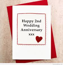 Happy 2nd Wedding Anniversary Images Second Anniversary Wishes