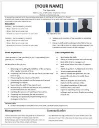 tax specialist resume tax specialist resume templates for ms word resume templates