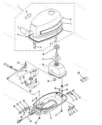 Mercury outboard by year mariner outboard oem parts diagram for cowling boats
