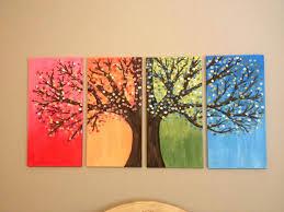 canvas wall art ideas canvas painting tree creative ideas easy canvas wall art projects