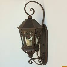 lights of tuscany authentic spanish colonial outdoor exterior wrought iron outdoor lighting fixtures new