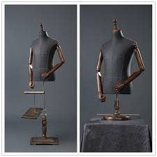 Suit Display Stands Impressive 32pcs Male Mannequins Fashion Dress Upper Body Mannequin With Holder