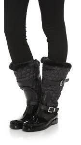 MICHAEL Michael Kors Fulton Quilted Mid Rain Boots | SHOPBOP &  Adamdwight.com