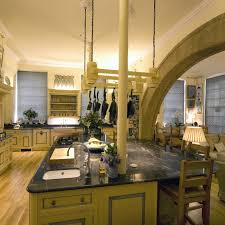 lighting a kitchen with high ceilings in a historic house