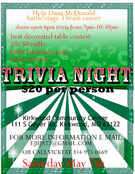 trivia night flyer templates free trivia night flyer template best and professional templates