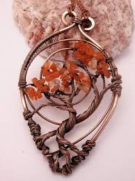 tags wire tree jewelry wire wrapped