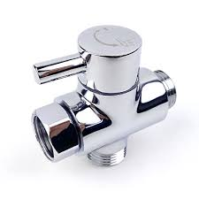 brass shower arm diverter valve for hand held showerhead and fixed spray head g 1