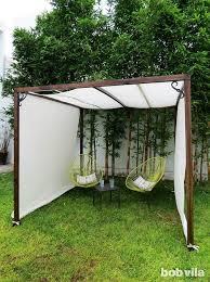 diy breezy outdoor room