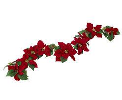 Amazonde Bloom Rot Weihnachtsstern Girlande Künstliche