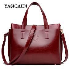 2017 las hand bags famous brand bags logo handbags women fashion black leather
