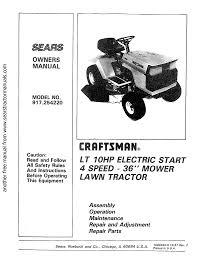 Craftsman 917 254220 Operator S Manual Manualzz Com