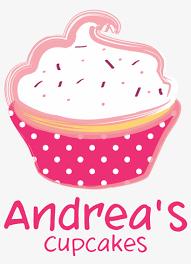 Pink Cupcake Logo Cupcakes Graphic Design Png Free Transparent