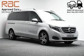 O mpv de grande porte baseado no vito. Mercedes Benz V Class Cars For Sale Pistonheads Uk
