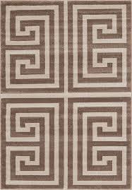 160cm x 230cm greek key rug