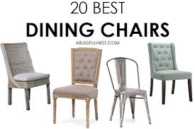 we ve got 20 of the best dining chairs for you to choose from