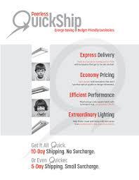 Peerless Lighting 7crm3l Peerless Quickship Brochure By Peerless Lighting For