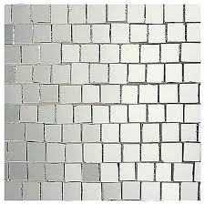 mosaic mirror tiles stained glass mosaic roman silver mirror gloss mosaic mirror tiles for crafts