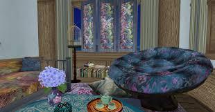 Papasan Chair In Living Room Boho Fabulous Living Room The Fallen Path