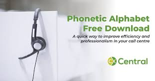 Download the file for your platform. Phonetic Alphabet View It Now Or Download A Copy To Keep On Your Desk
