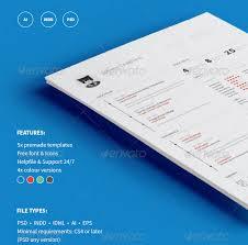 resume template set psd resume templates