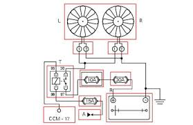 automotive electric fan relay wiring diagram images cooling fan radiator fan relay introduction to wiring diagram
