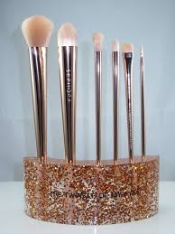 makeup review sephora glitter happy brush set