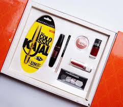 maybelline inslam box wedding edition red review s in india loreal makeup kit