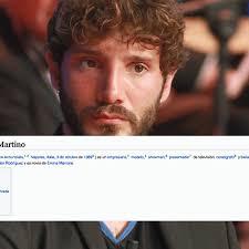 La pagina Wikipedia di Stefano De Martino in Italia non ...