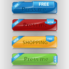 Color Web Buttons Vector 03 Free Download