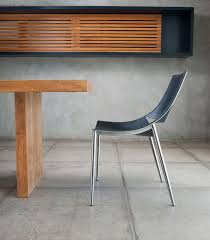 contemporary metal furniture. Contemporary Dining Chair / Metal Leather SLOANE MODLOFT Furniture O
