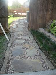 flagstone sidewalk ideas. flagstone path in gravel | stone walkways are a great solution for uneven yards or areas sidewalk ideas t