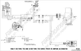 ford truck technical drawings and schematics section h wiring 1968 f 100 thru f 750 and b 500 thru f 750 65 amp alternator