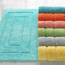 classic brights egyptian cotton bath rugs kassatex