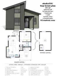 modern house plans small modern tiny house floor plans best 25 modern 3715 hbrd tiny home