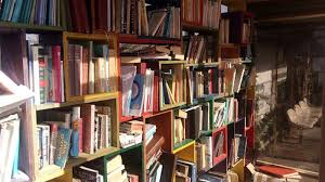 repurposing dusty old books
