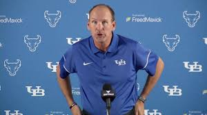 UB Football Media Day - Lance Leipold Press Conference - YouTube