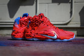 lebron 4th of july shoes. nike lebron xii 12 usa 4th of july release date june 27th lebron shoes