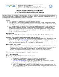 Sample Physici Spectacular Physician Assistant Resume Examples