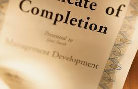 how to make a certificate of completion can i get an entry level job with a certificate of completion from a