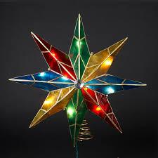 15Christmas Tree Lighted Star