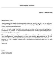 restaurant complaint letter did you recently have a bad   complaint response letter template customer complaints and sample business examples word pdf best home design idea inspiration