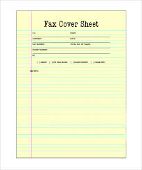 Free Printable Fax Cover 9 Printable Fax Cover Sheets Free Word Pdf Documents