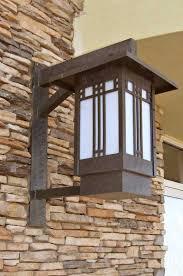 craftsman style outdoor lighting fixtures light