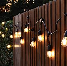 ip65 commerical heavy duty s14 led bulb string outdoor lights waterproof filament bulb string with saa ce certification