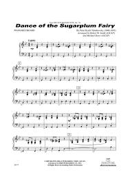 dance of the sugar plum fairy sheet music dance of the sugar plum fairy piano accompaniment peter ilyich