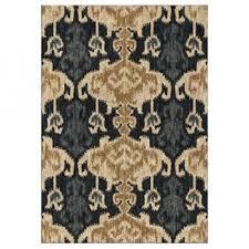 signature design by ashley medium rug saville blue brown r402732