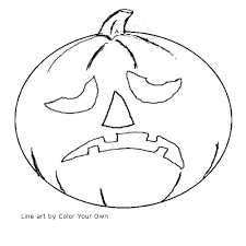 Small Picture Printable Coloring Pages Jack O Lantern Coloring Pages