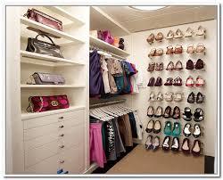 shoe racks for walk in closet