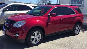 2014 Chevrolet Equinox LT AWD Crystal Red Tintcoat Roy Nichols ...