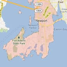 Image result for 1895 Newport, Rhode Island map.